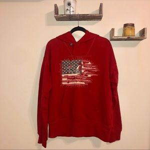 American Flag Denim & Supply Sweater
